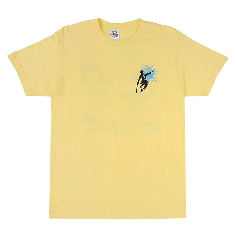 Boys of Summer Telescope Casual Tee - Yellow