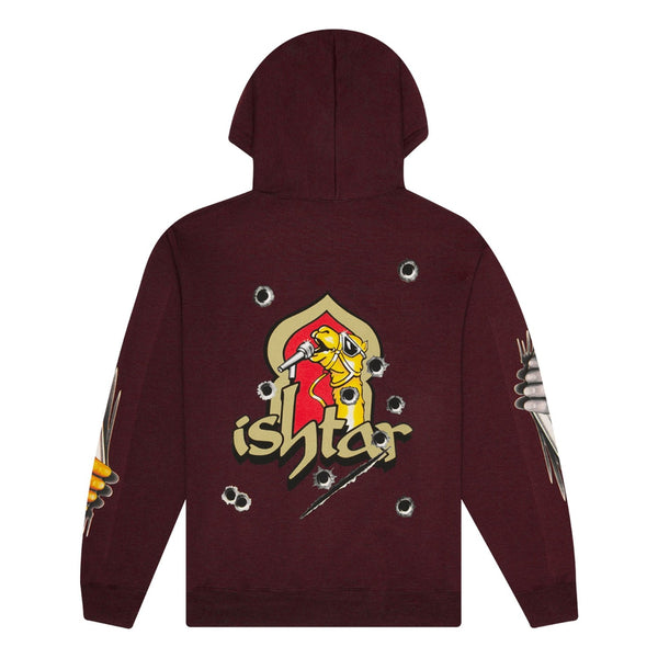 Boys of Summer Ishtar Hooded Sweatshirt - Burgundy