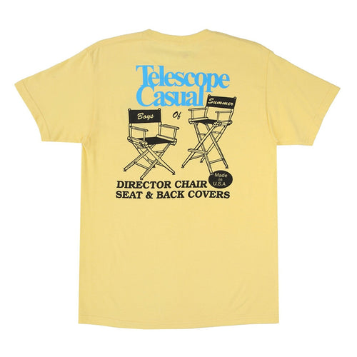 Boys of Summer Telescope Casual Tee - Yellow - 1991 Skateshop Online Store