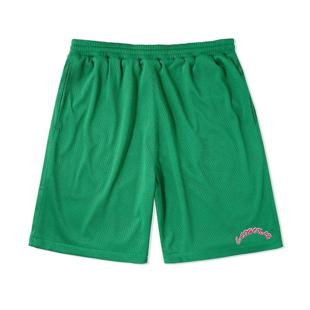 Cash Only Ball Mesh Shorts Forest
