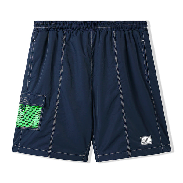 Butter Goods Scout Shorts Navy/Lime