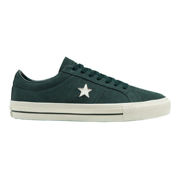 Converse One Star Pro Low Deep Emerald/Egret/Egret