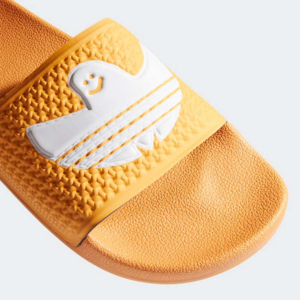 Adidas Shmoofoil Slide Hazy Hazy Orange / Cloud White / Cloud White | 1991 Skateshop | Fremantle WA