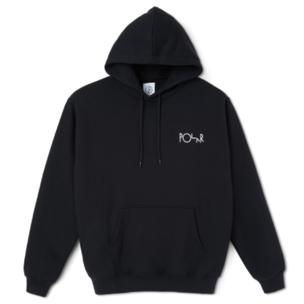 Polar Skate Co 3 Tone Fill Logo Hoodie Black | 1991 Skateshop | Fremantle WA