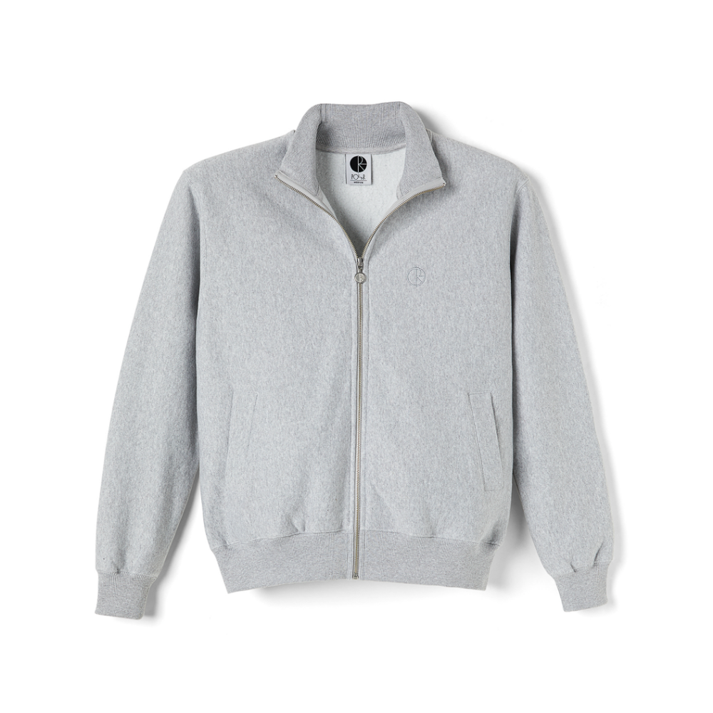 Polar Skate Co Torsten Track Jacket Grey | 1991 Skateshop | Fremantle WA