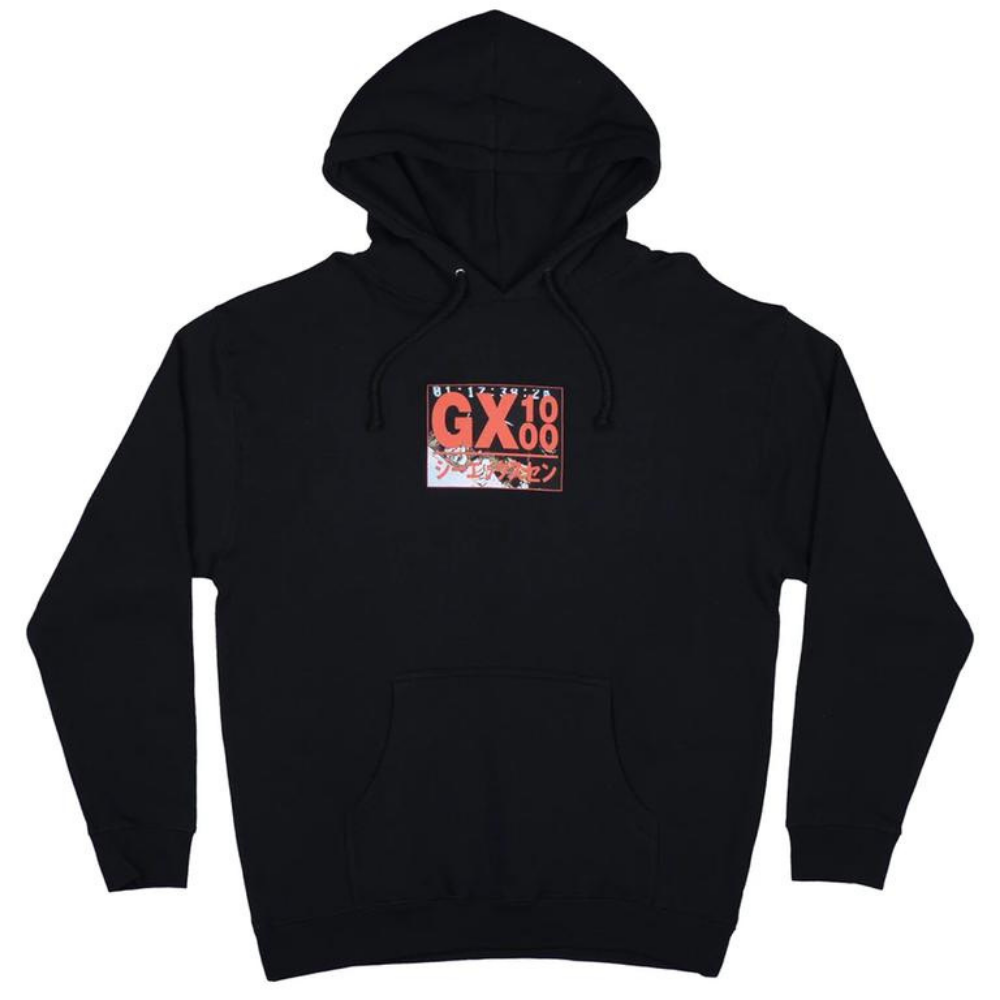 GX1000 Horror Sweat Hood Black | 1991 Skateshop | Fremantle WA