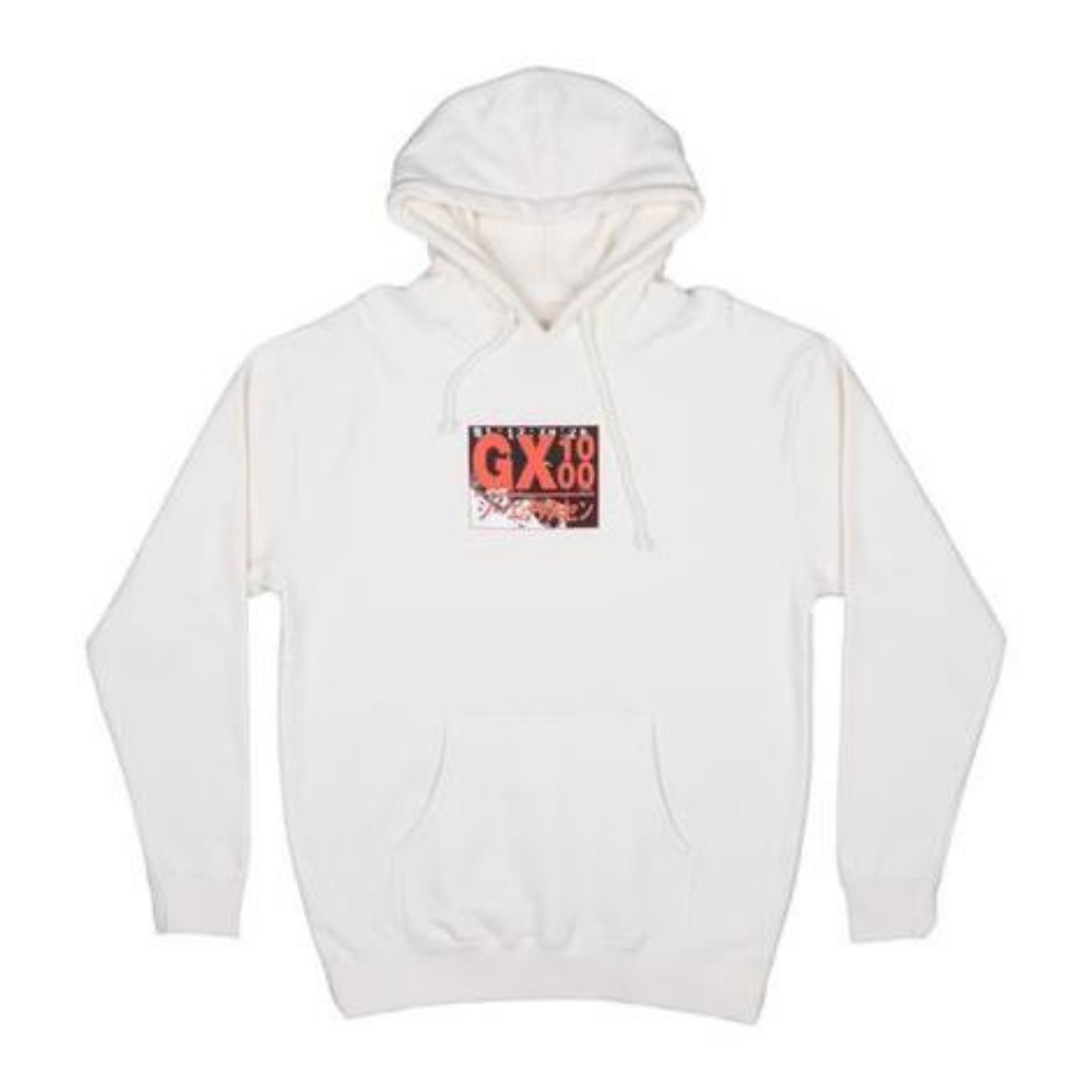 GX1000 Horror Sweat Hood Bone | 1991 Skateshop | Fremantle WA