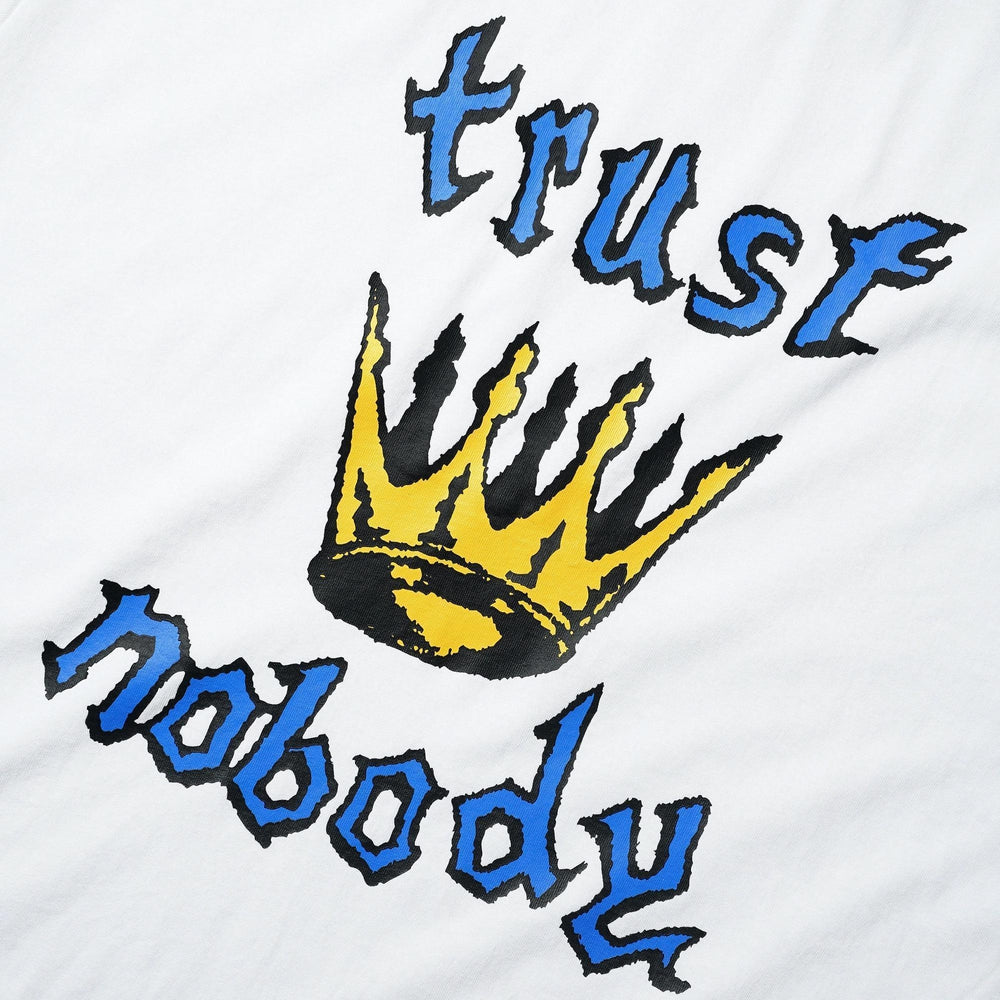 Cash Only Trust Nobody T-Shirt White