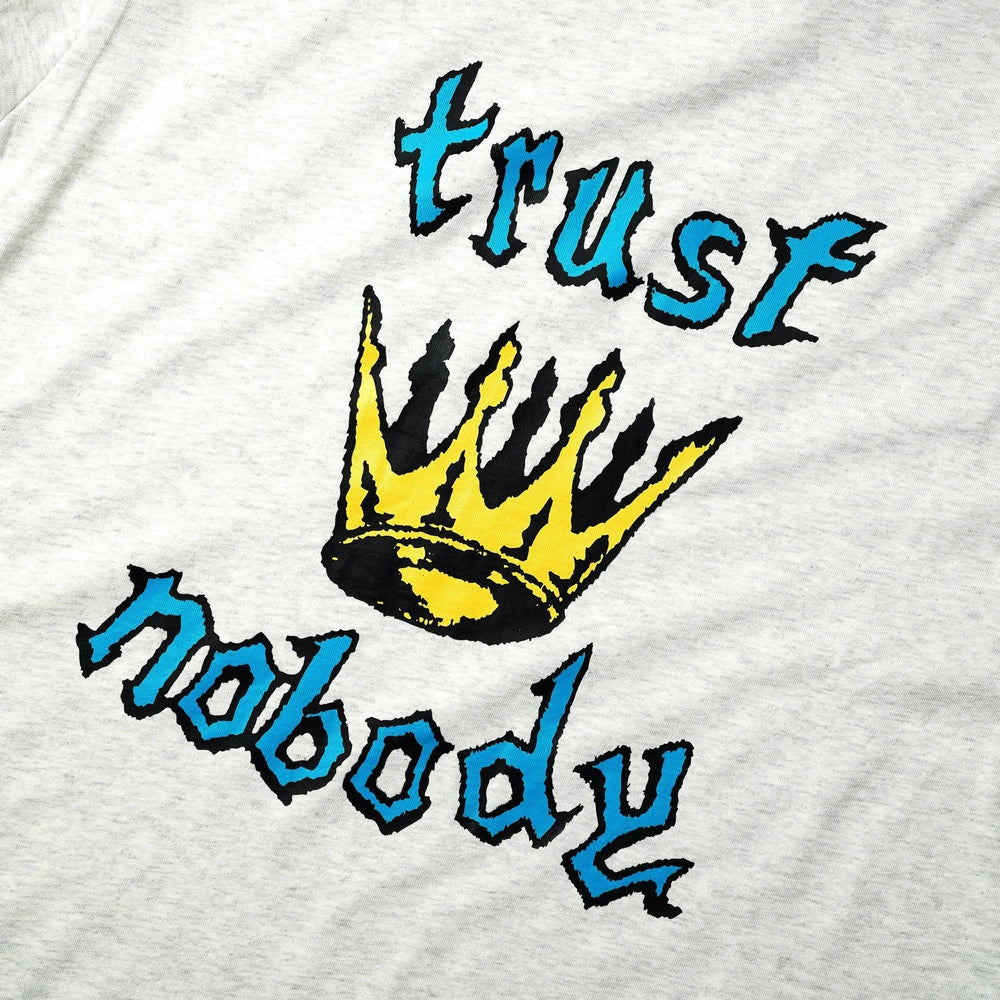 Cash Only Trust Nobody T-Shirt Ash Grey