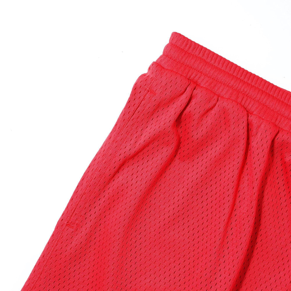 Cash Only Ball Mesh Shorts Red