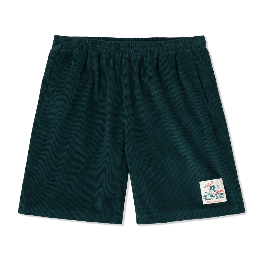 Butter Goods World Music Shorts Forest