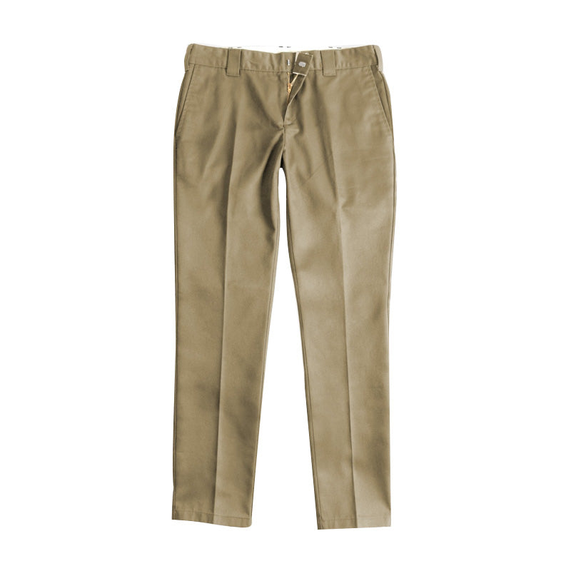 Dickies 872 Slim Fit Work Pant - Khaki - 1991 Skateshop Online Store