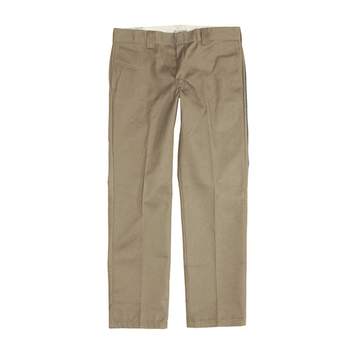 Dickies 873 Slim Straight Work Pant - Khaki - 1991 Skateshop Online Store