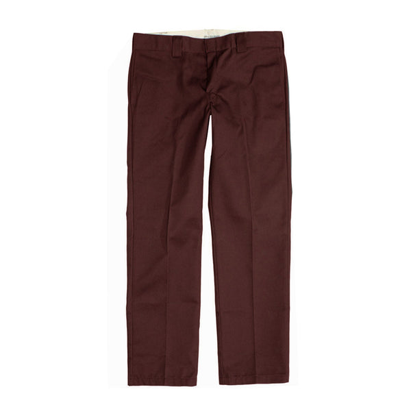 Dickies 873 Slim Straight Work Pant - Chocolate Brown