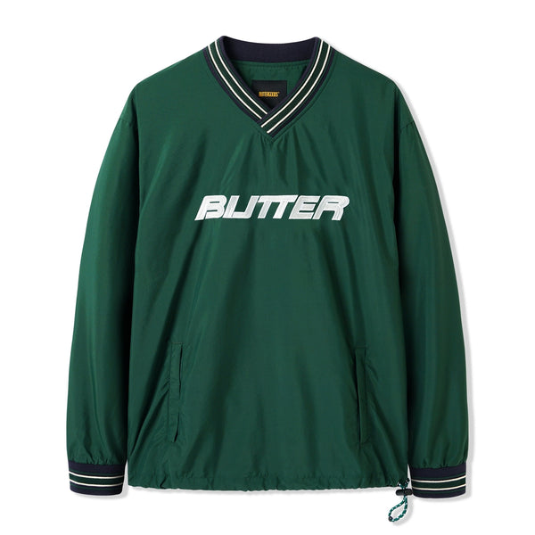 Butter Goods Dugout Pullover Forest Green