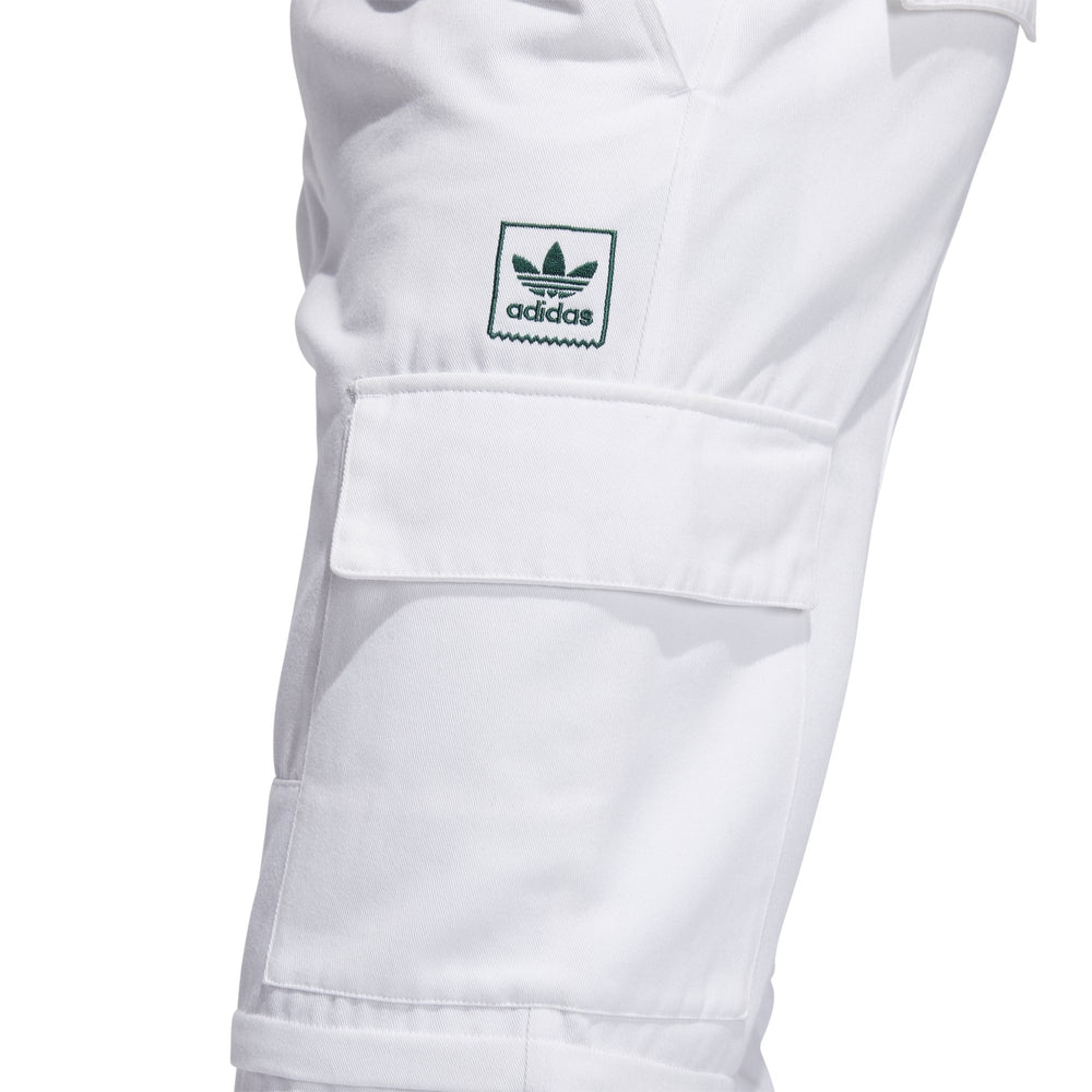 Adidas Tyshawn TJ Cargo Pants White/Green