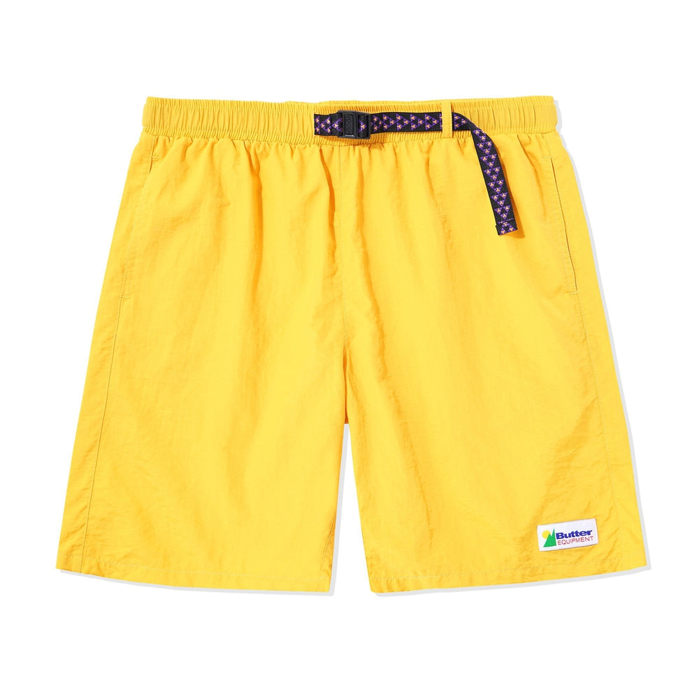 Butter Goods Equipment Shorts Yellow
