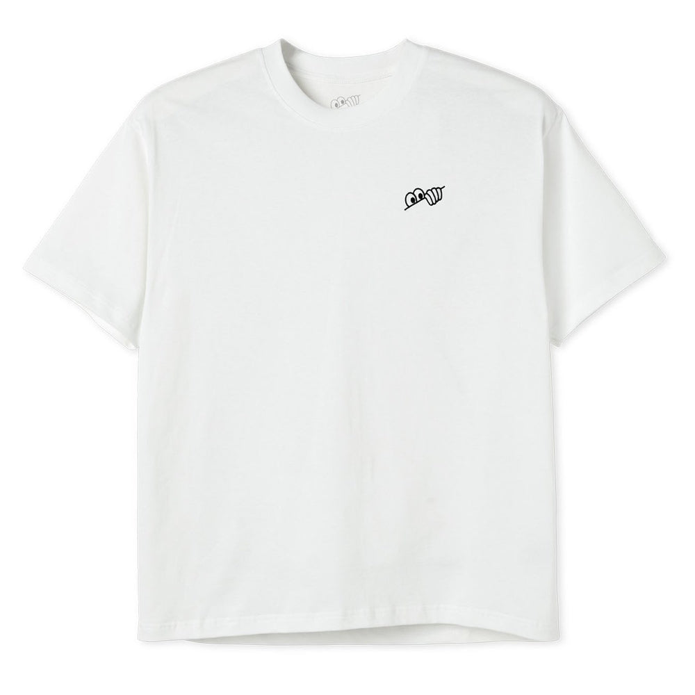 Last Resort AB Eyes Tee White