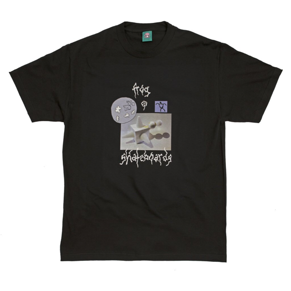 Frog Skateboards Gift From The Moon Tee Black