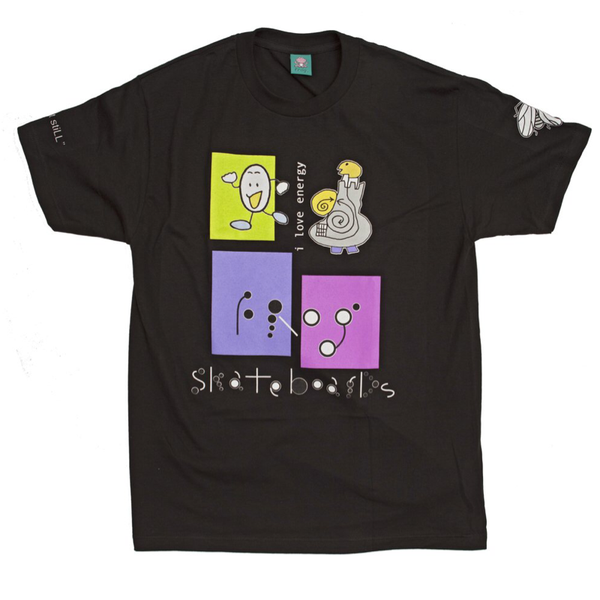Frog Skateboards I Love Energy Tee Black