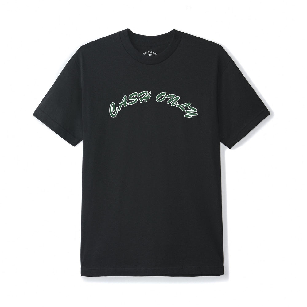Cash Only Logo T-Shirt Black