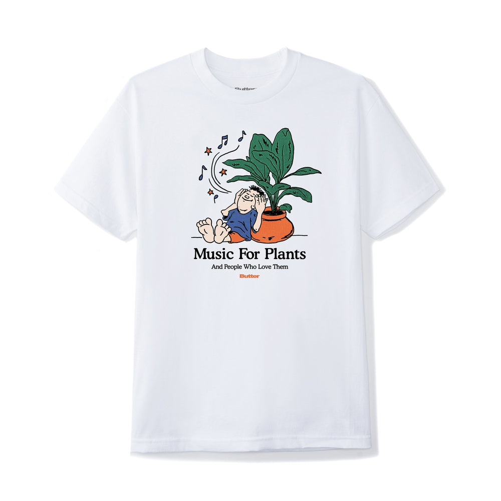 Butter Goods Music For Plants Tee White