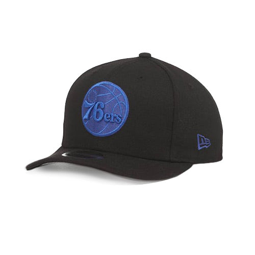 New Era 76ers 9FIFTY Snapback Black