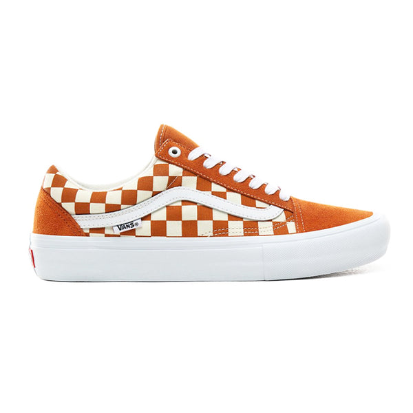 Vans Old Skool Pro Checker Golden (Checkerboard) Oak