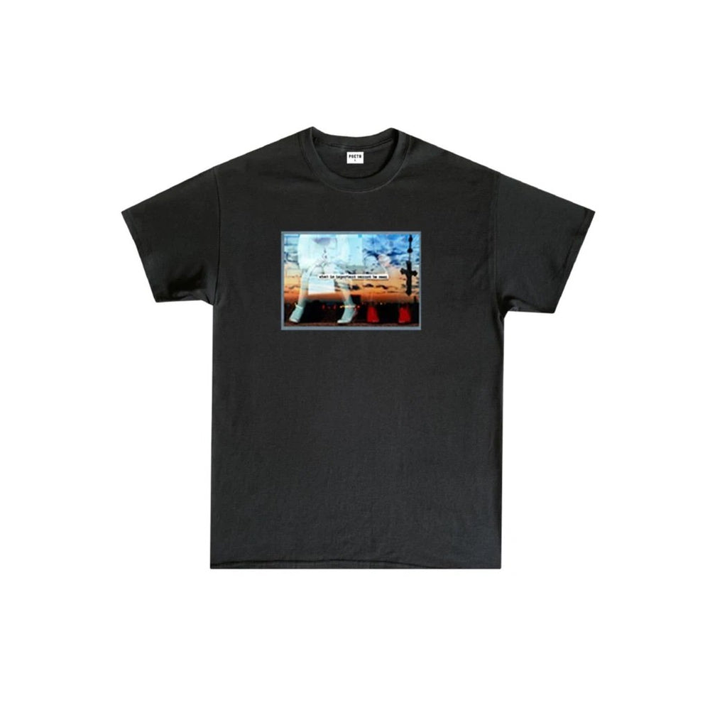 Poets Better Half SS Tee Black | 1991 Skateshop | Fremantle WA