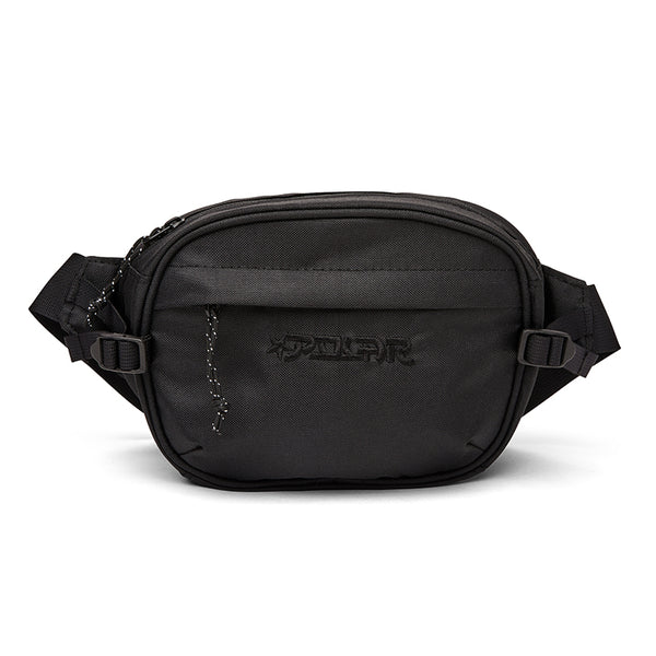Polar Skate Co Star Pocket Cordura Hip Bag Black