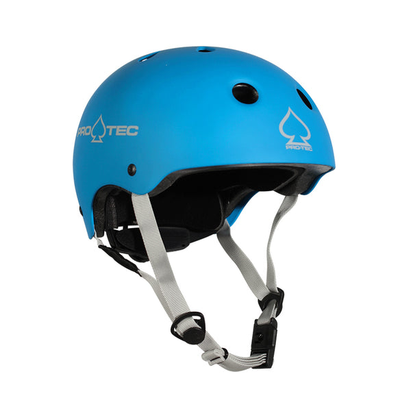 Pro-Tec Junior Classic Fit Helmet Certified Matte Metallic Blue