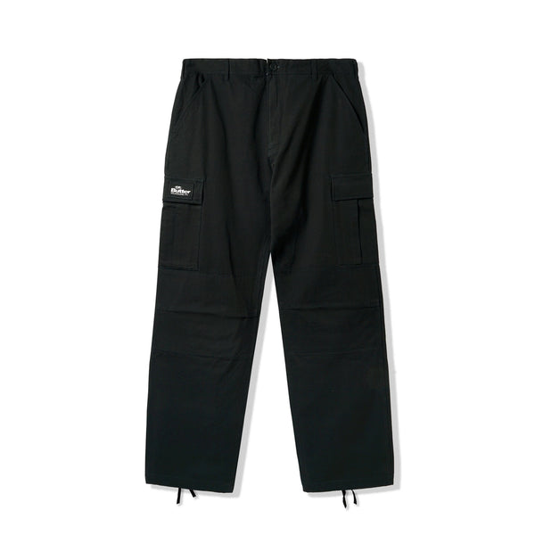 Butter Goods Santosuosso Cargo Pants Black