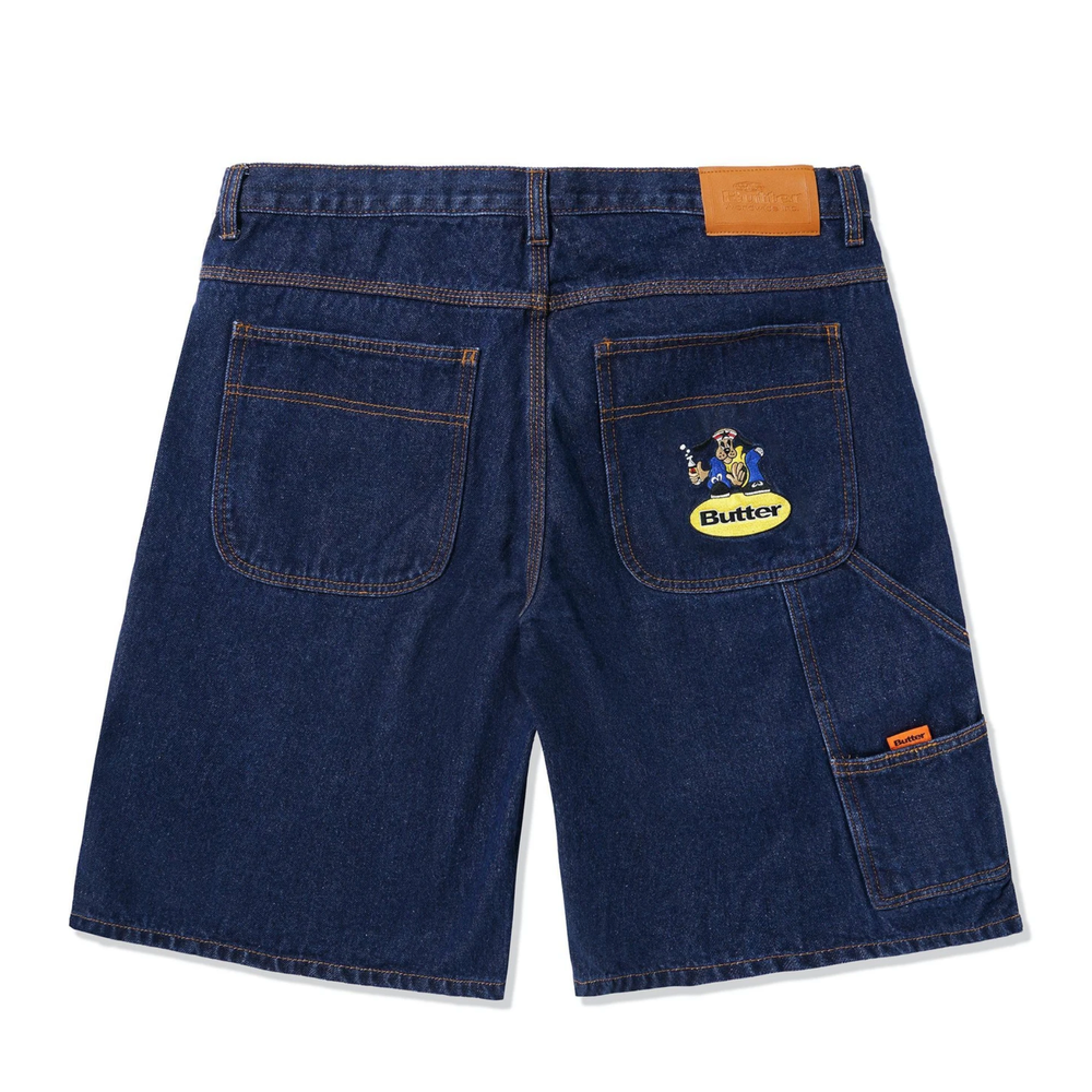 Butter Goods Homeboy Denim Shorts Indigo