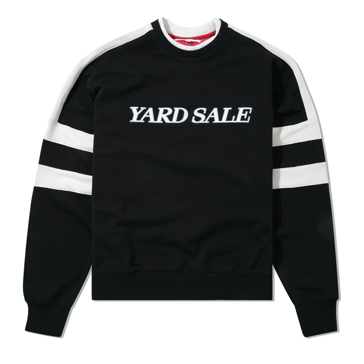 Yardsale Raider Crewneck Black