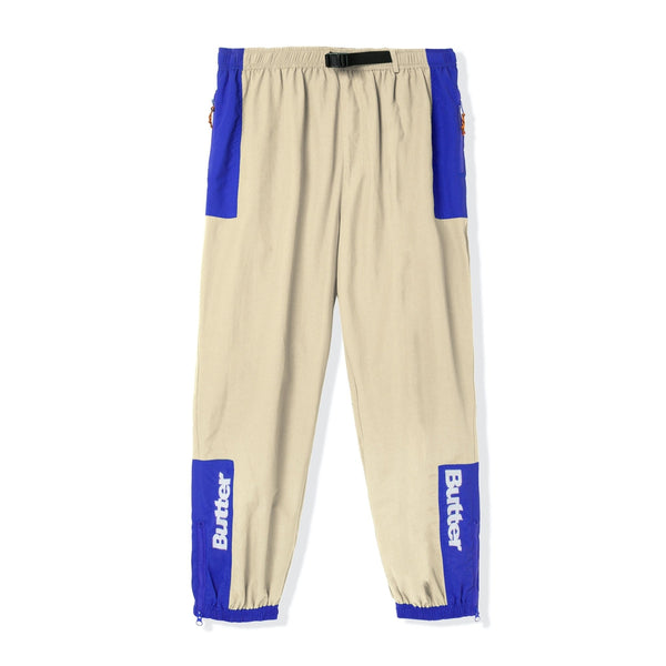 Butter Goods Search Track Pants Khaki/Royal