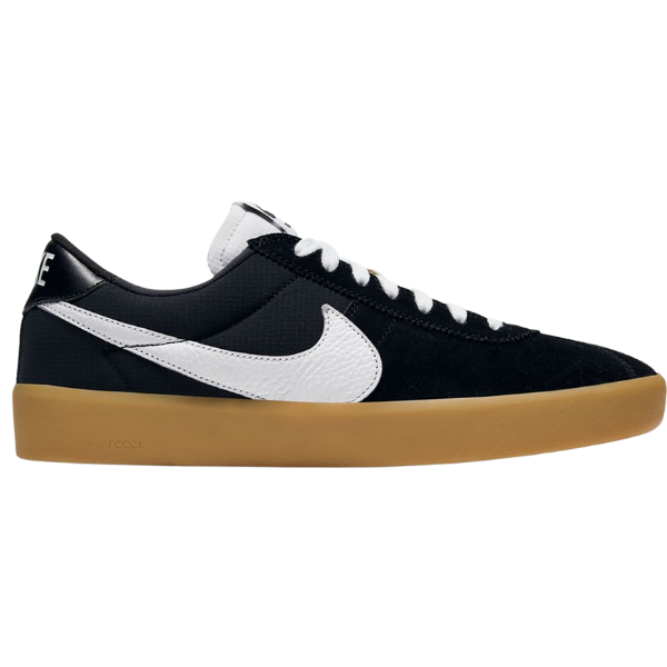 Nike SB Bruin React Black/White/Gum | 1991 Skateshop | Fremantle WA