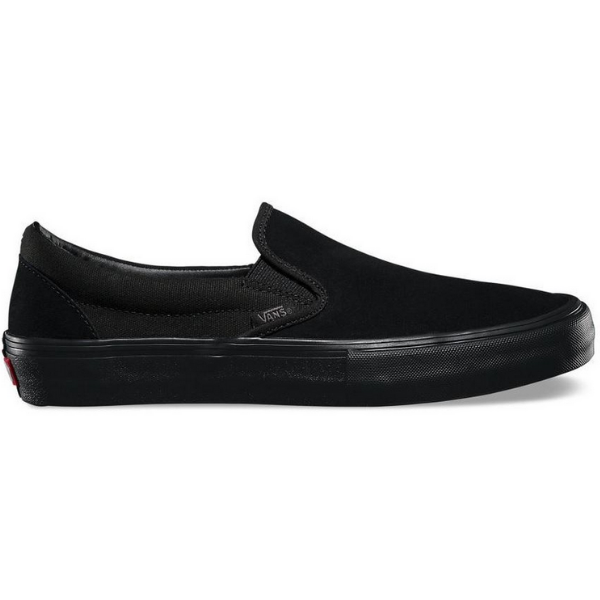 Vans Skate Slip On Pro Black/Black | 1991 Skateshop | Fremantle WA