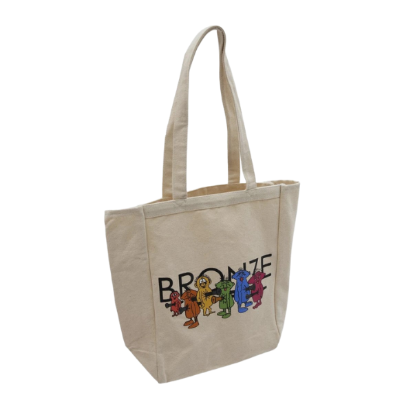 Bronze 56k Bolt Boys Tote Bag | 1991 Skateshop | Fremantle WA