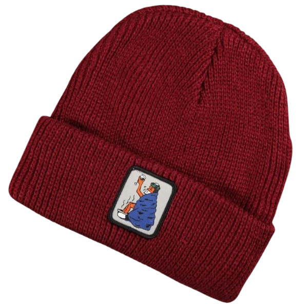 Passport Cold Out Beanie Burgundy