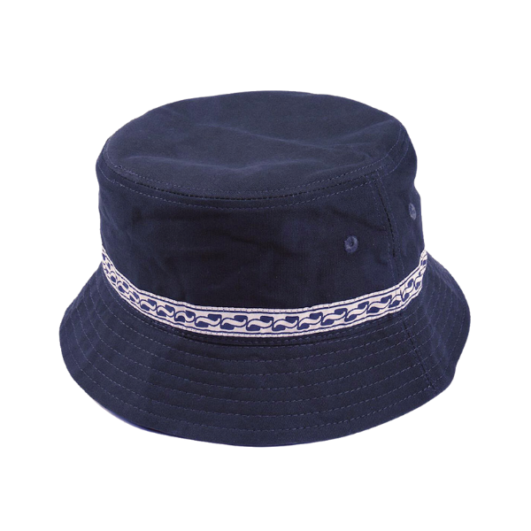 Passport Autoribbon Bucket Hat Navy