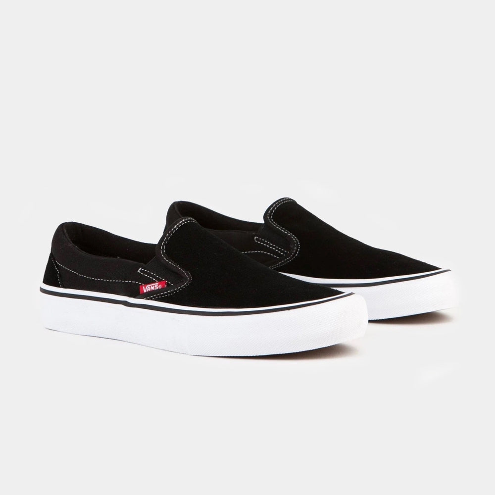 Vans Skate Slip On Pro Black/White