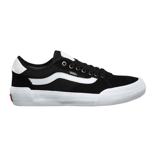 Vans Youth Chima Pro 2 Suede/Canvas Black/White