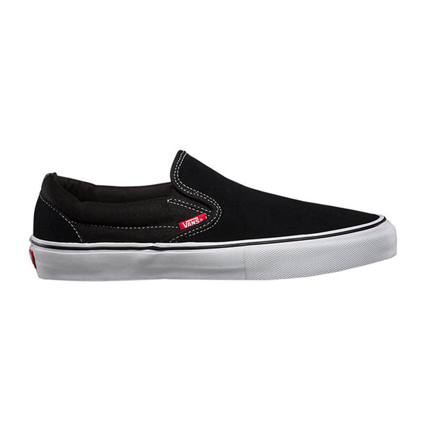 Vans Slip On Pro Black White Gum