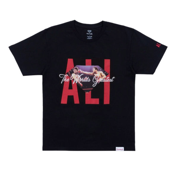 Diamond Supply Co Muhammad Ali Ali Sign Tee Black