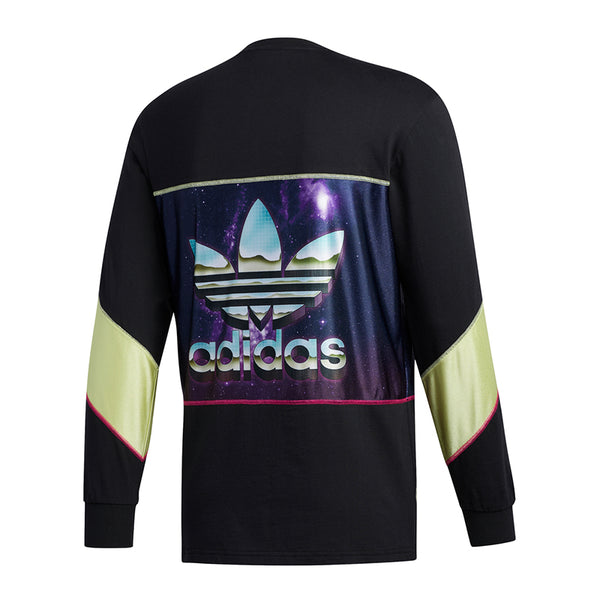 Palace X Adidas Longsleeve Solar Yellow And Black
