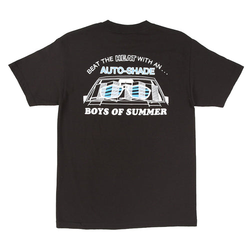 Boys of Summer Autoshade Tee - Black - 1991 Skateshop Online Store