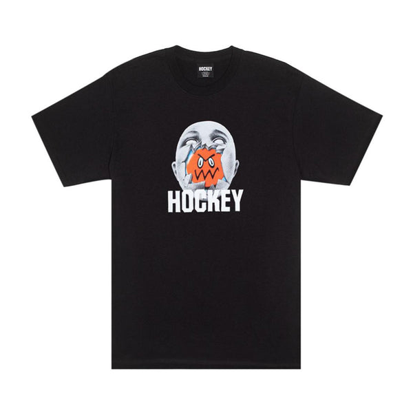 Hockey Broken Face T-Shirt Black