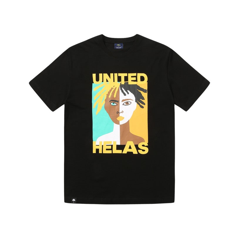 Helas United Tee Black