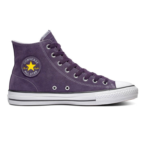 Converse CTAS Pro Hi Rubber Back Suede Grand Purple/Vivid Sulfur/White