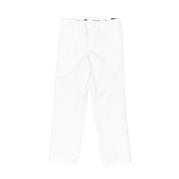 Dickies 873 Slim Straight Work Pant - White
